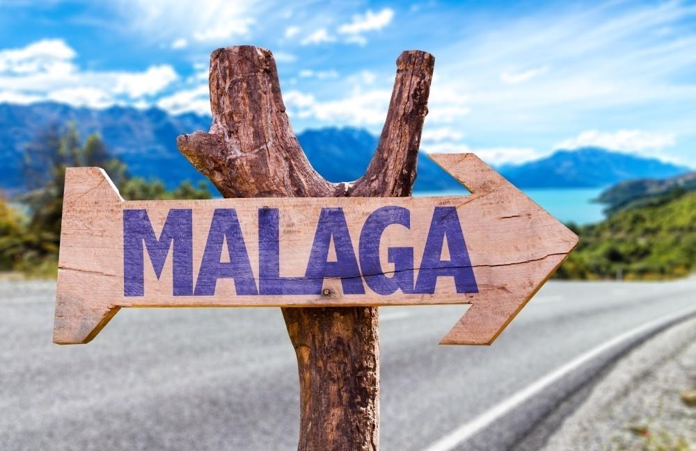 flecha hacia malaga