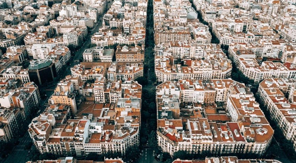 vista l'eixample barcelona