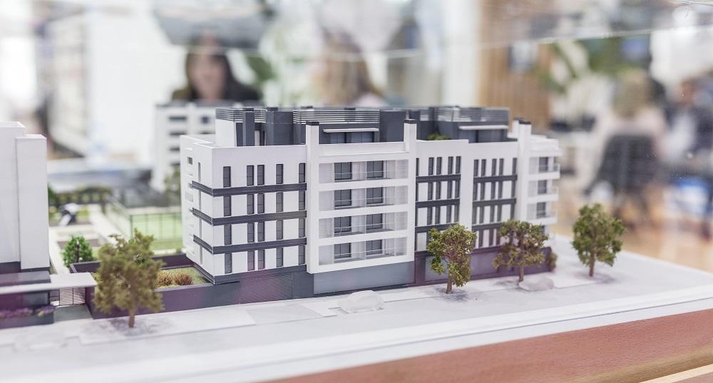 maqueta edificio nuevo