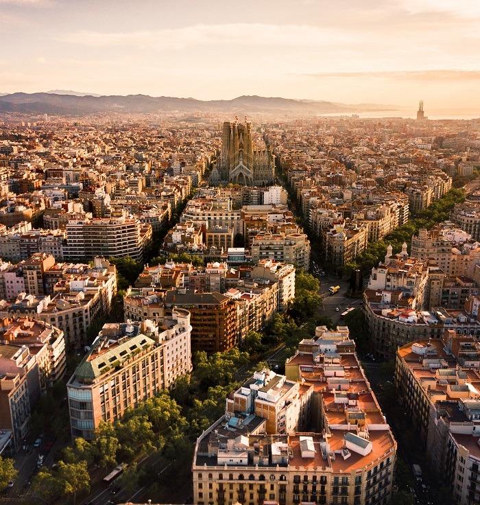 Mejores barrios barcelona vista