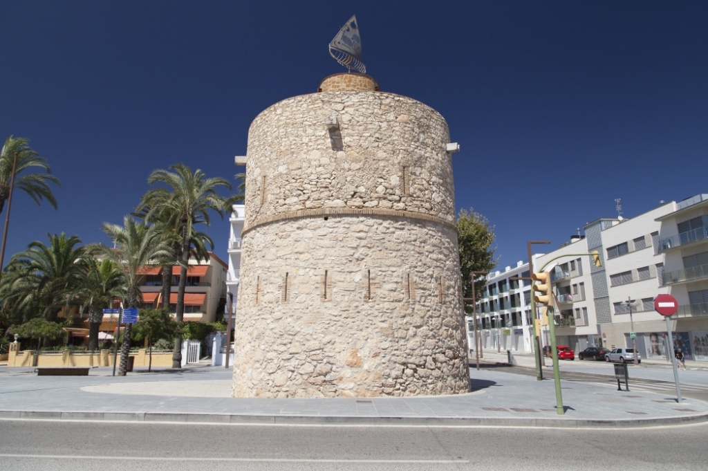 Faro de Sant Cristòfol vilanova i la geltrú