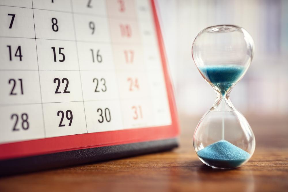 Calendario de plazos de un embargo