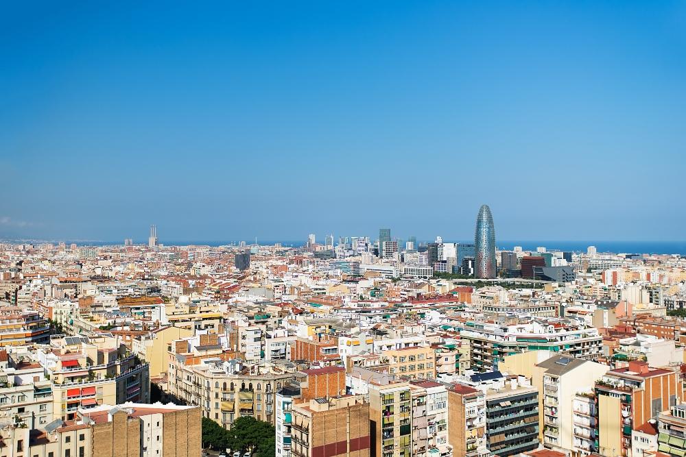 vista panorámica barcelona