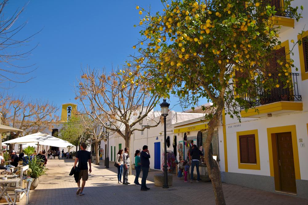 pueblos mas bonitos baleares Santa Gertrudis de Fruitera