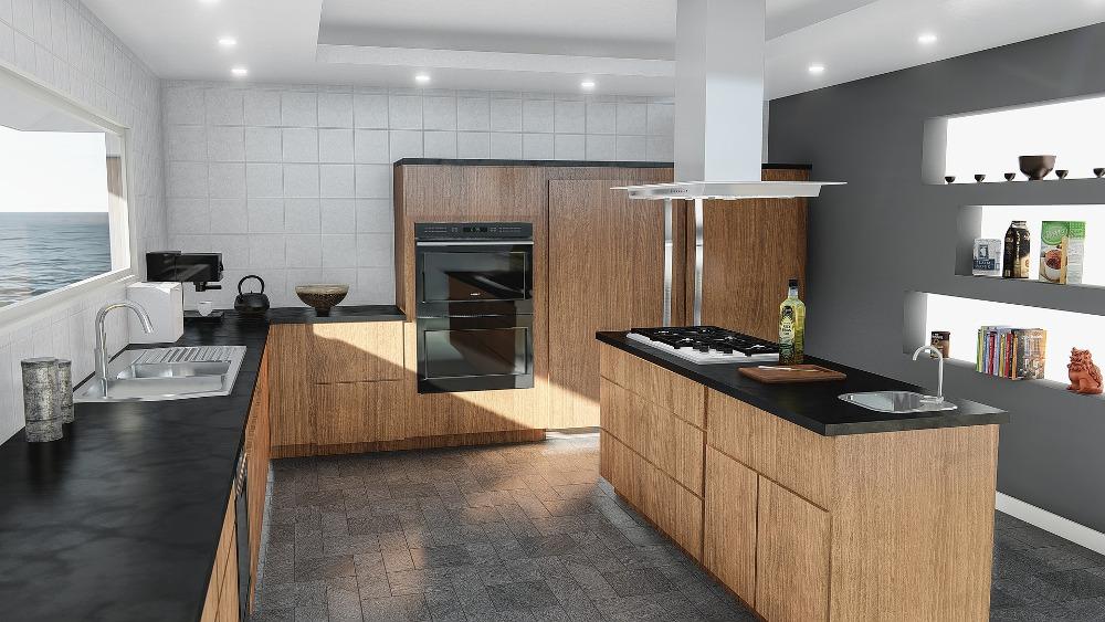 cocina piso nuevo