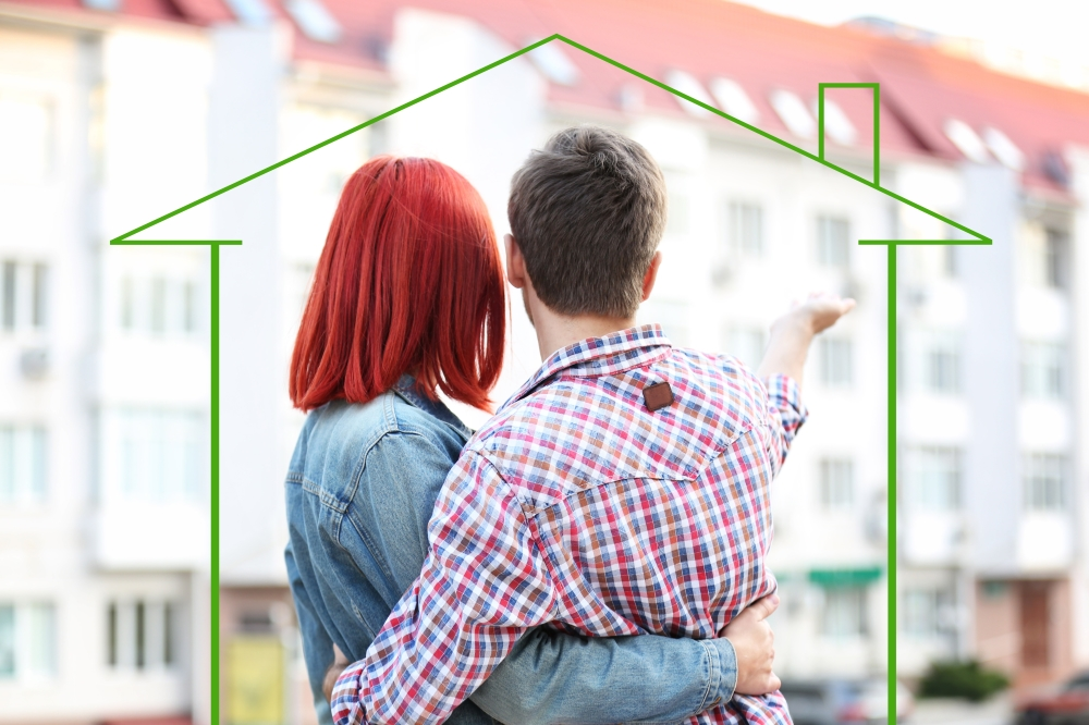 Pareja con hipoteca
