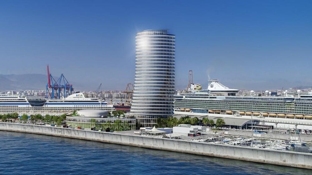 torre del puerto malaga