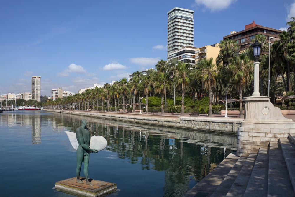 obra nueva Alicante paseo