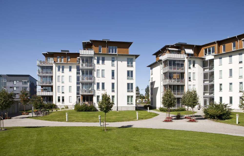 urbanización de pisos