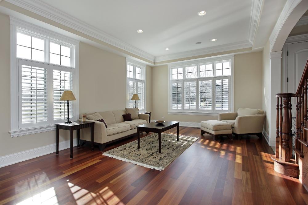 burbuja inmobiliaria 2020, salón de una casa nueva