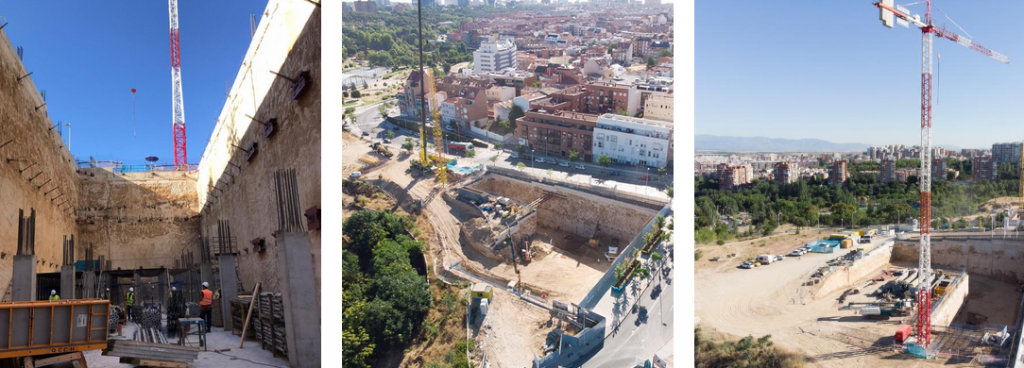Obras en Skyline Madrid