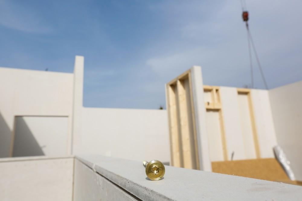 casa prefabricada barata en construcción
