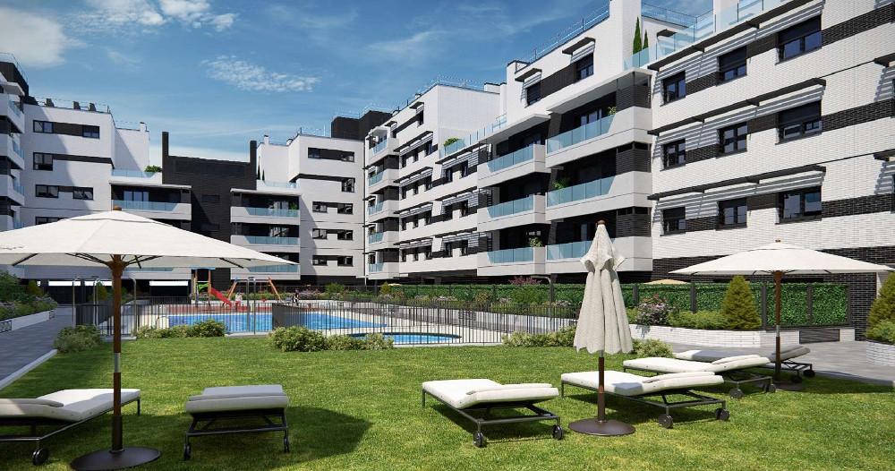 piso con piscina promoción carabanchel
