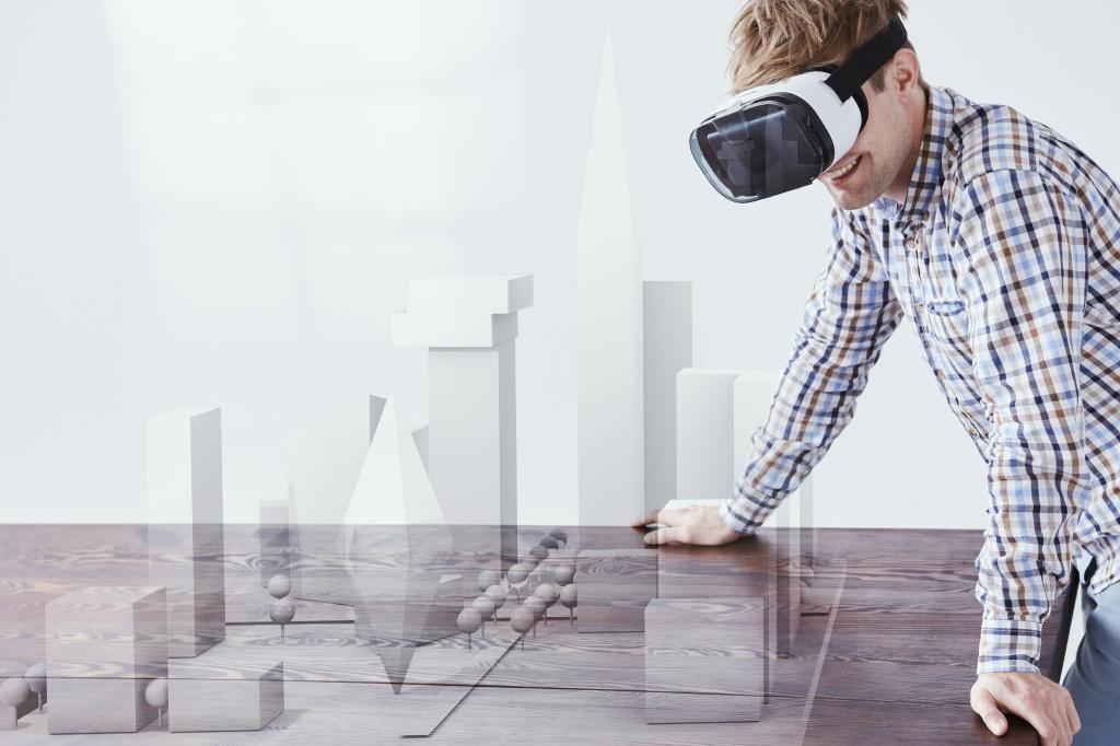 La realidad virtual interviene en la obra nueva
