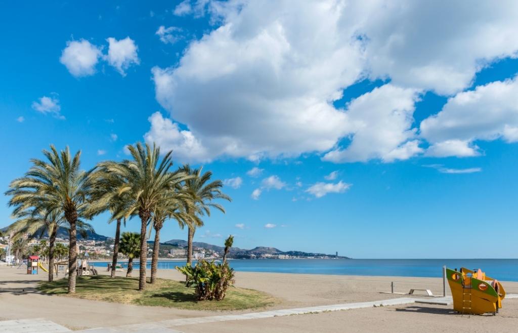 playa de la costa española