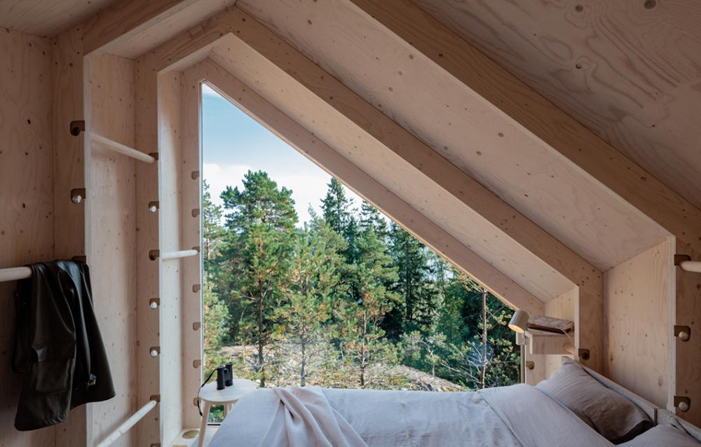 casita prefabricada madera