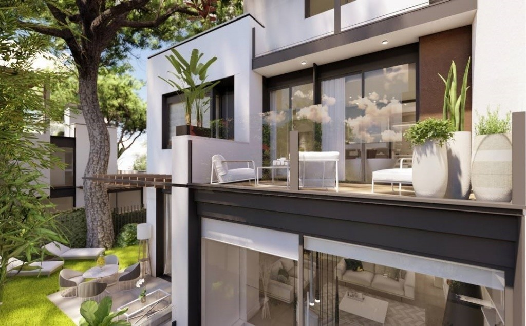 vivir en piso con terraza