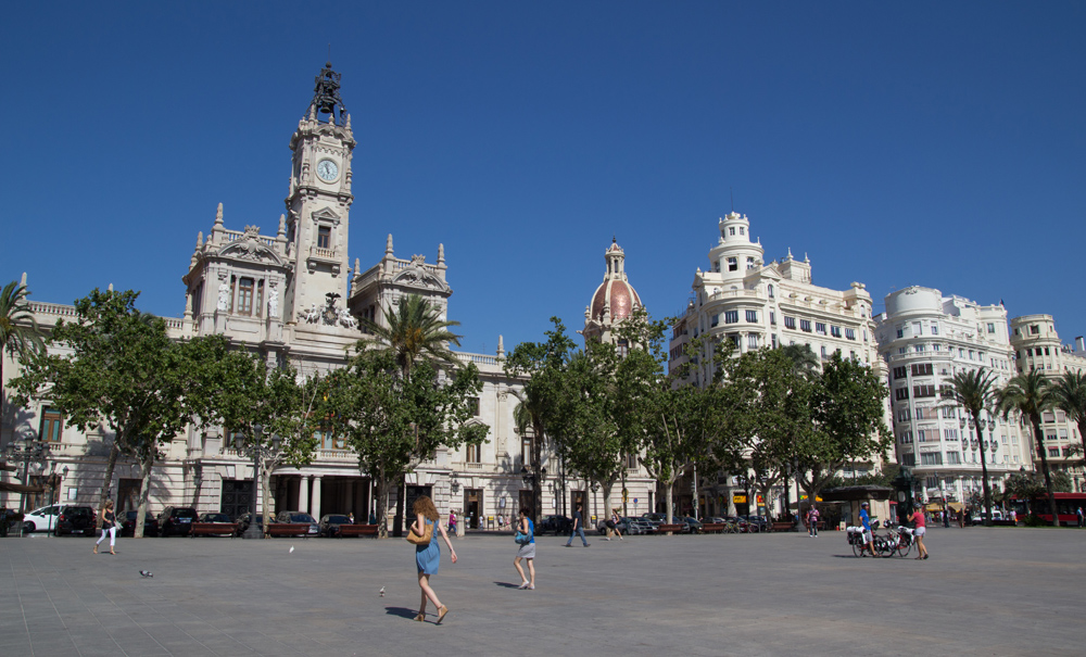 Valencia centro urbano