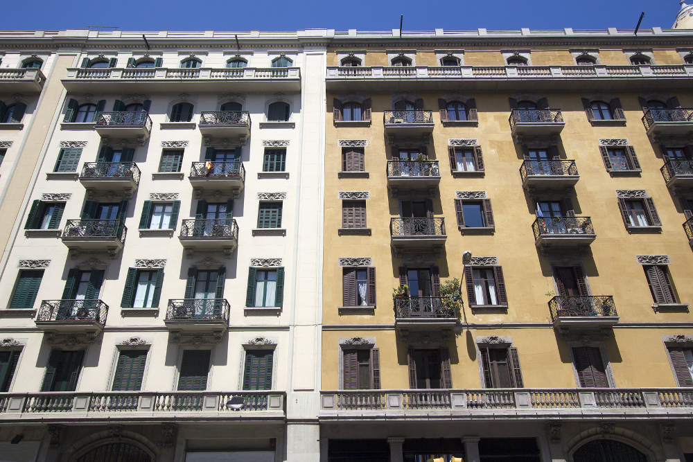 edificio ciudad de barcelona