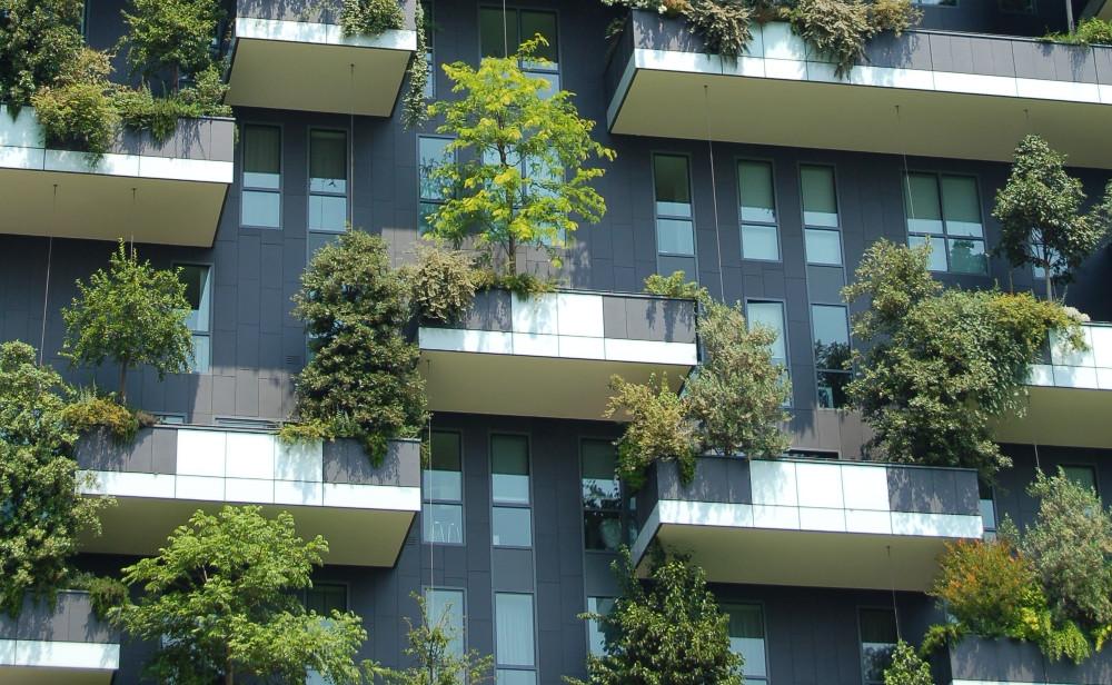 fachada promoción inmobiliaria