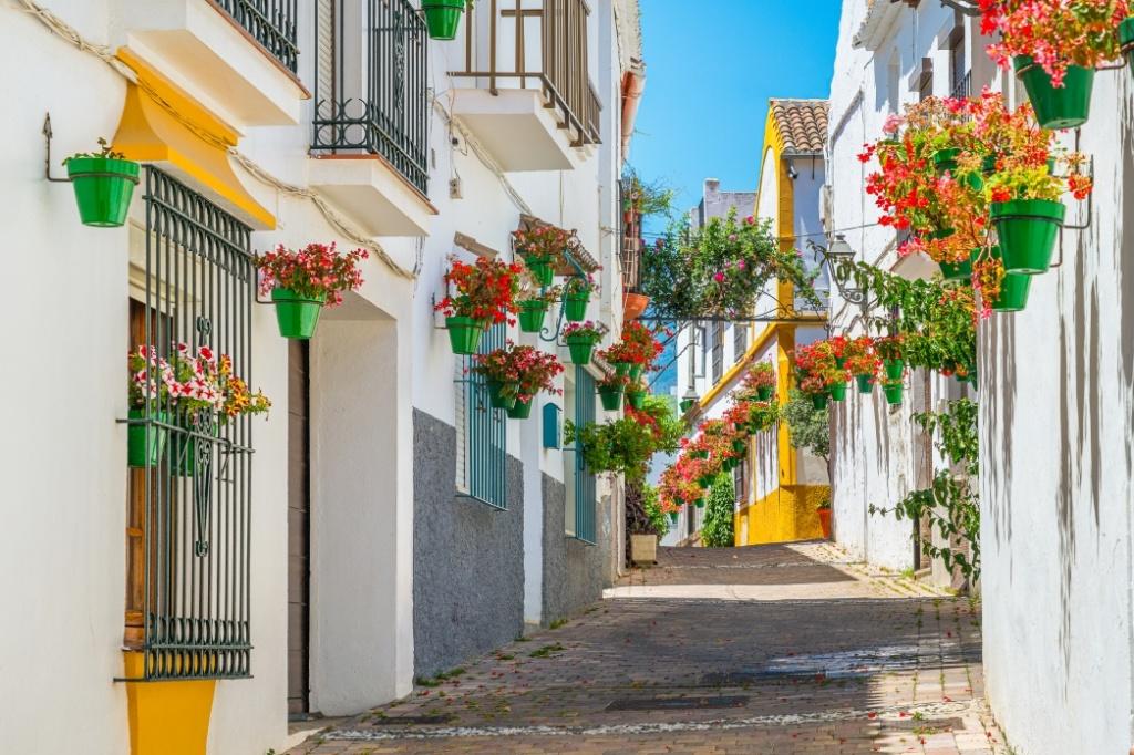 calle del centro de Estepona