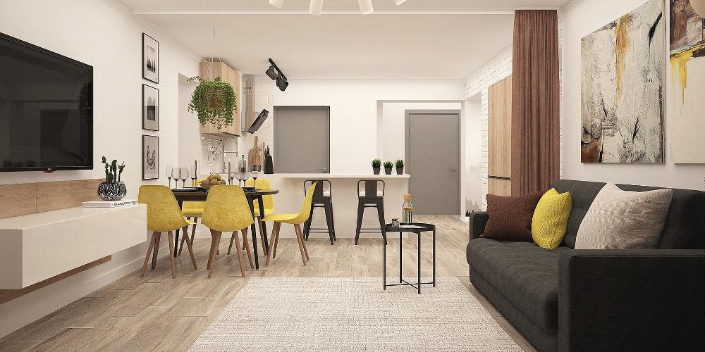 cuántos m2 necesito en mi vivienda de obra nueva foto salón