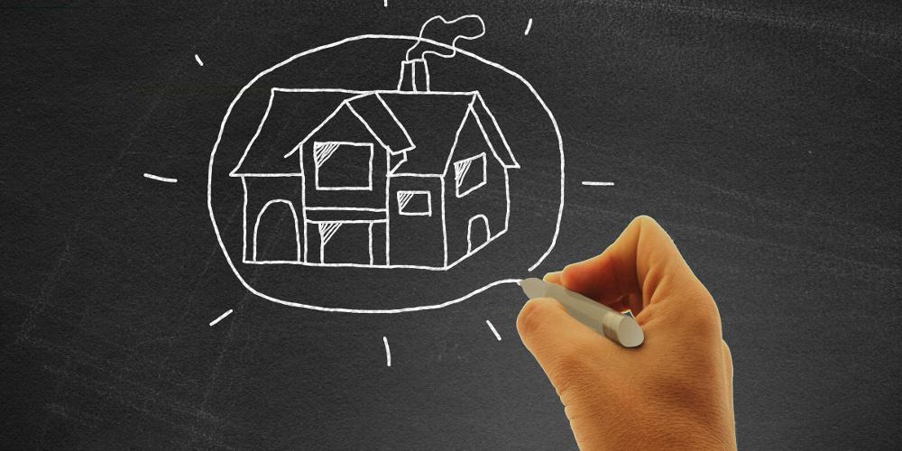dibujo casa
