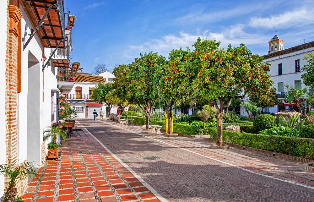 casco urbano marbella
