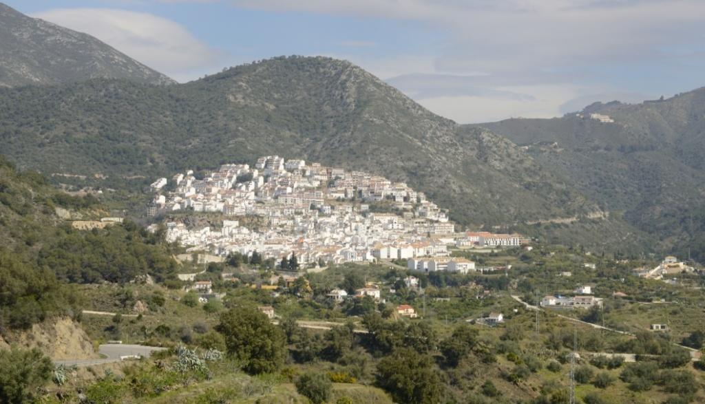panorámica Ojén Málaga