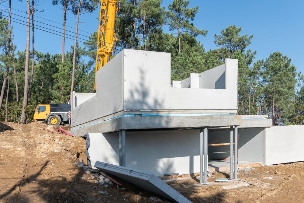 cuánto duran las casas prefabricadas imagen de casa prefabricada de hormigón en construcción