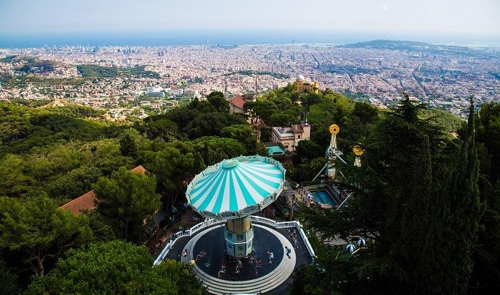 Mejores barrios Barcelona Tibidabo